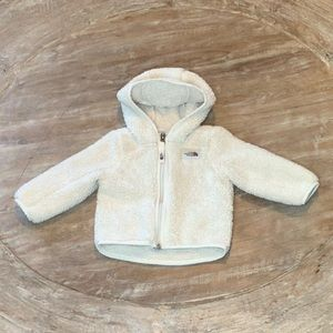 North Face Ivory Jacket with Ears